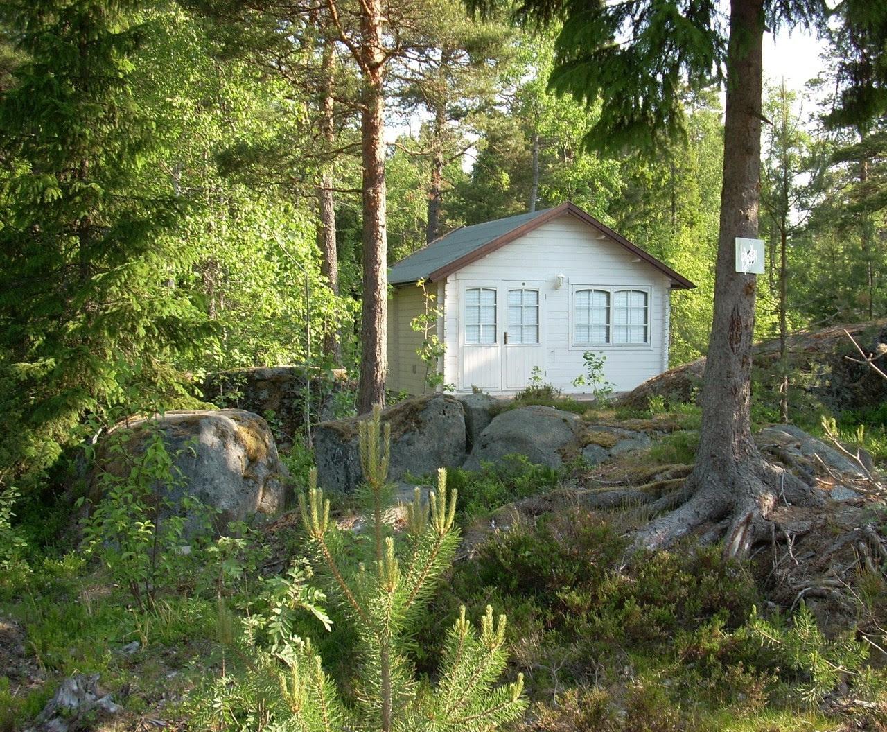 Summer cabin north of Stockholm, Sweden.