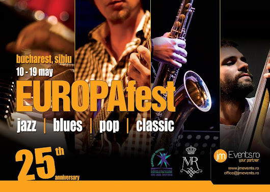 București capitala jazz-ului mondial 17 trupe din 12 țări la EUROPAfest - Bucharest International Jazz Competition