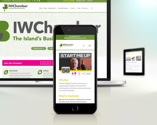 IW Chamber of Commerce - Isle of wight Web Design - Internet & Digital Marketing