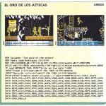 El oro de los Aztecas  - Amiga