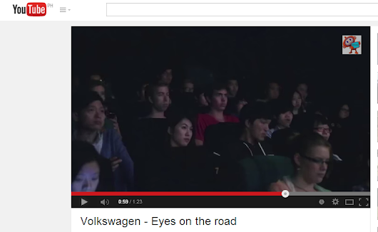 Innovative Eyes on the Road Ad by Volkswagen