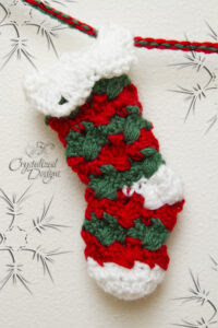 Prancer Stocking Bunting by Crystalized Designs