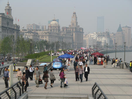 The Bund in Shanghai China - European Settlement in China