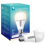 TP-Link - Kasa A19 Wi-Fi Smart LED Light Bulb - White