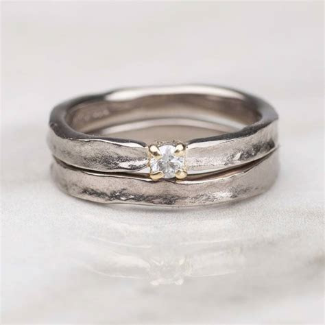thumbelina solid gold diamond engagement ring by alison