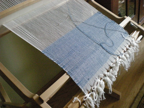 My first weaving