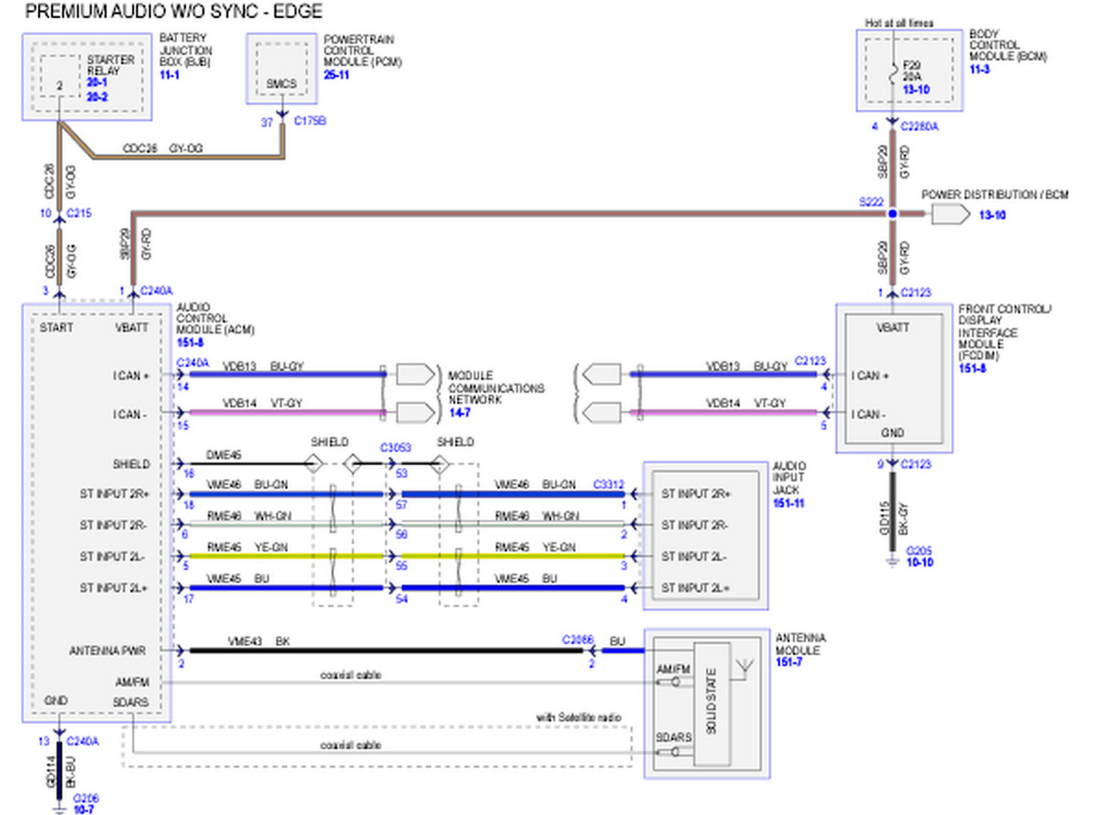 Diagram Ford Fusion Stereo Wiring Color Diagrams Full Version Hd Quality Color Diagrams N1d2love Edilgress It