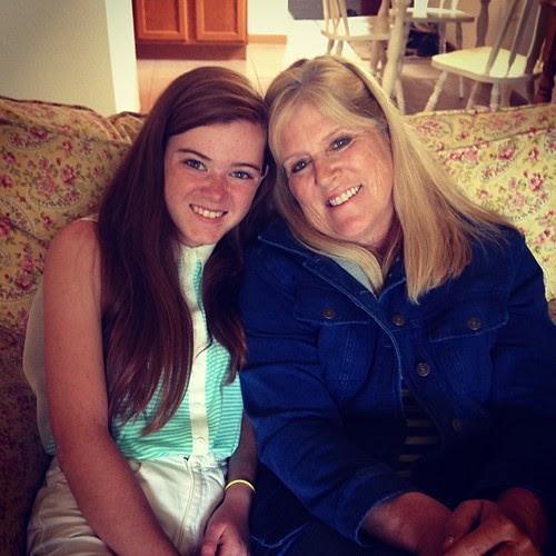 Katie and aunt Nancy