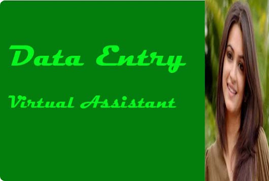 I will do Data Entry and Virtual Assistant
