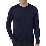 Hanes 482L Cool Dri Long Sleeve Performance T-Shirt - Navy