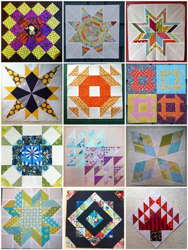 Stash Trad blocks by Poppyprint 2013