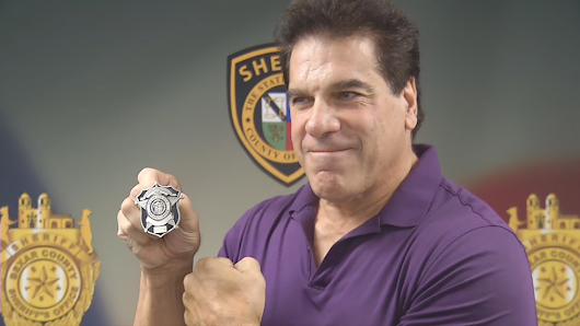 Introducing Bexar County Deputy Lou 'The Incredible Hulk' Ferrigno!