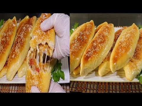 فطائر رمضانية بحشوة رائعة وبعجينة هشة وخفيفة مثل القطن كتيير طيبة