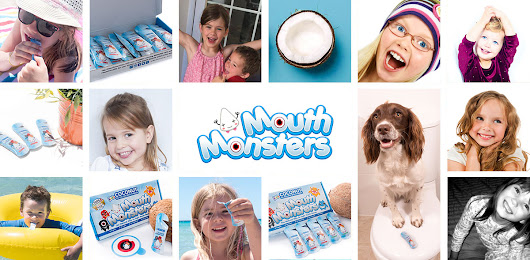 MouthMonsters Bug-Catching Coconut Oil Pulling Mouthwash For Children