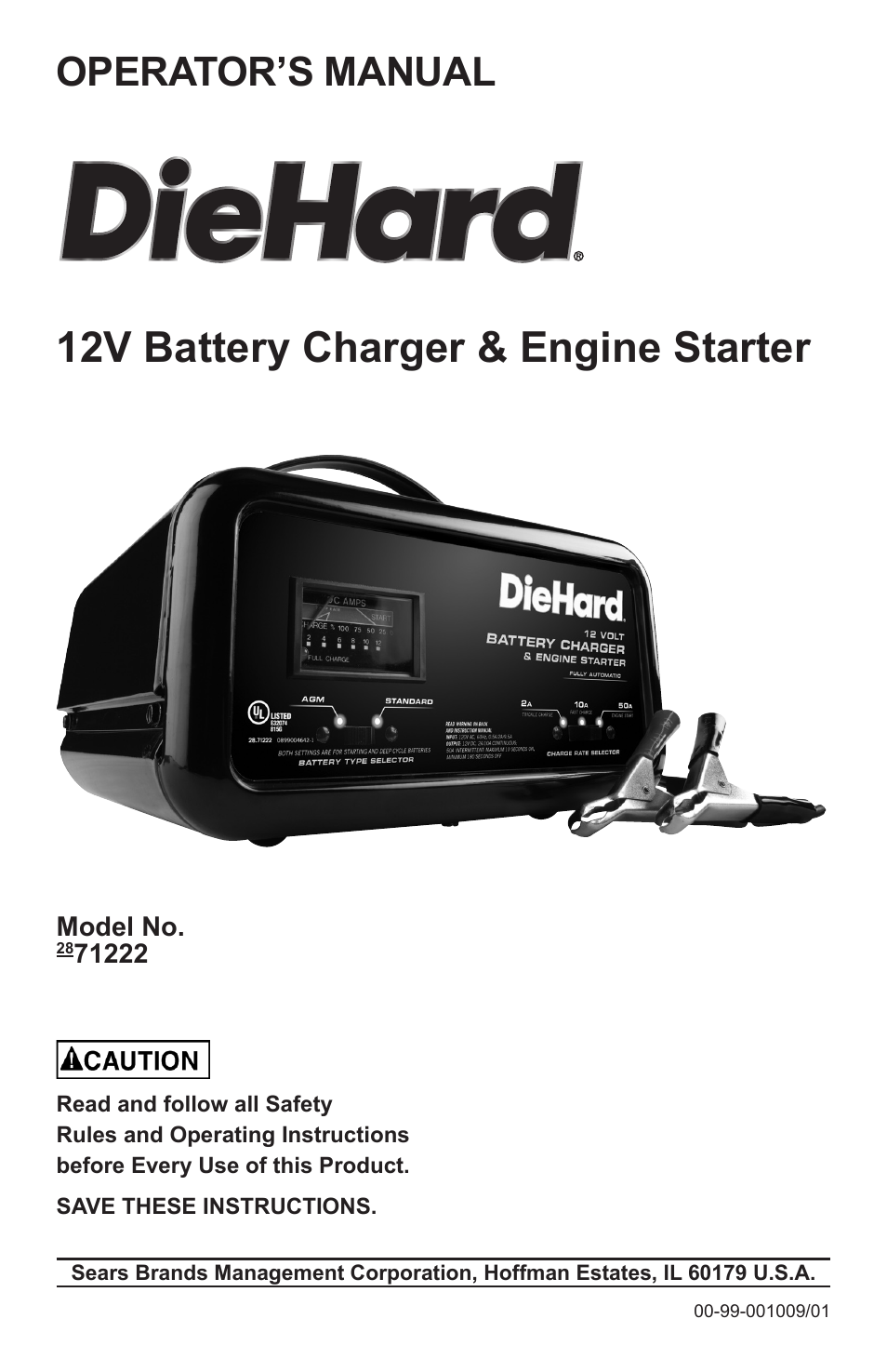 Diehard Battery Charger Wiring Diagram