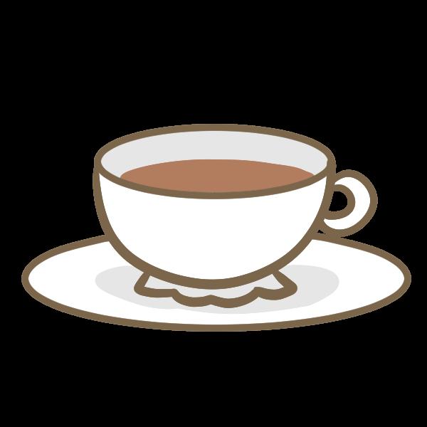 紅茶のイラスト かわいいフリー素材が無料のイラストレイン