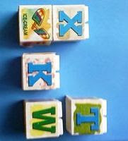 Cubes for developmental age assessment