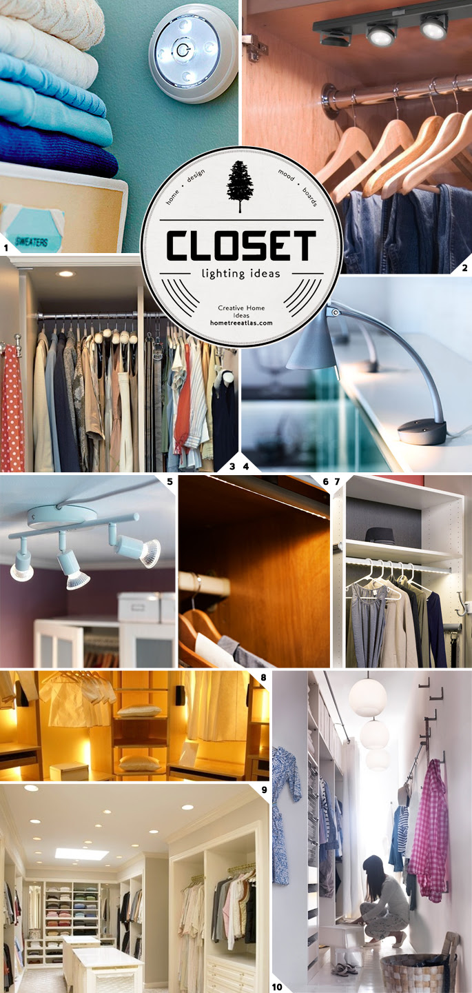 Closet Lighting Ideas From Wireless To Walk In Home Tree Atlas