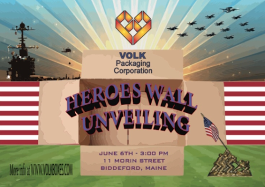 Derek Volk, President of Volk Packaging Corp. on business in Maine and Heroes Wall Project - The Grow Maine Show