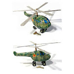 PilotMall.com KA 50 Russian Black Shark Helicopter