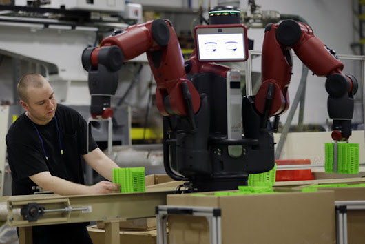 Robots Work Their Way Into Small Factories