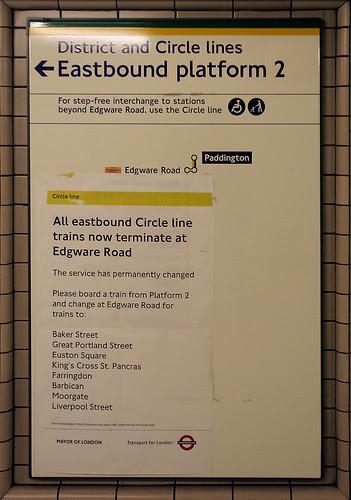 Paddington Underground station by bowroaduk