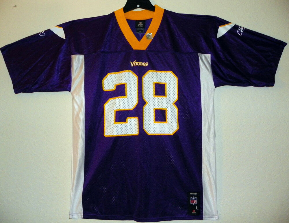 Adrian Peterson Jersey Youth Kids NFL Minnesota Vikings Purple Jersey Reebok eBay
