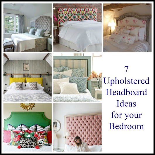 7 Upholstered Headboard Ideas for your Bedroom - Tradesmen.ie Blog