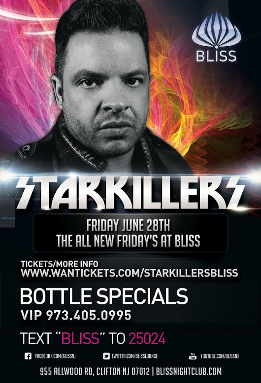 Starkillers at Bliss Lounge