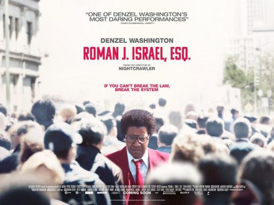 Resultado de imagem para movie poster Roman J. Israel