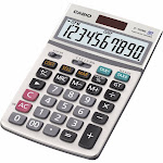 Casio JF-100MS Desktop Calculator - 10 Digits