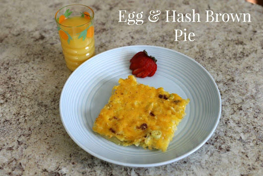 Recipe: Egg and Hash Brown Pie