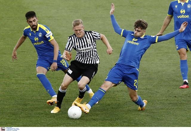 """ΠΑΟΚ-Αστέρας Τρίπολης:""""Αστεράτος"""" στην Τούμπα ο Αστέρας, έσπασε το αήττητο του ΠΑΟΚ!"""