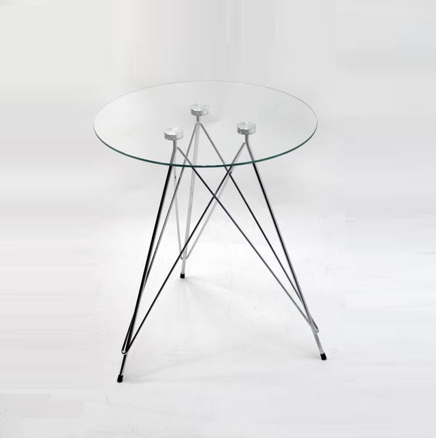 3 Foot Transparent Small Round Glass Coffee Table Buy Round Glass Table Tempered Glass Table Cross Wire 3 Feet Table Product On Alibaba Com