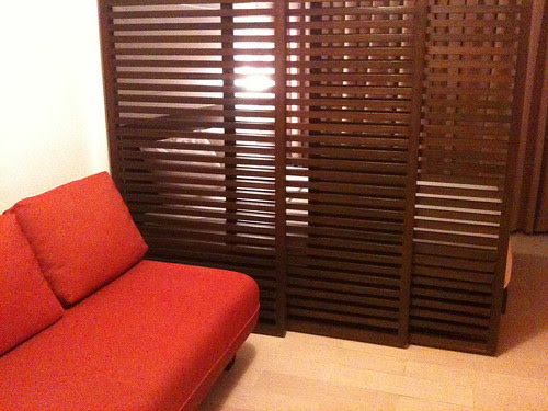 Double bed with sofa bed at the Remington serviced apartment