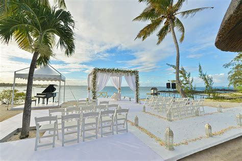 Let the wedding bells ring on the blissful island