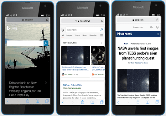 Bing finally releases AMP viewer for news stories in mobile search - Search Engine Land