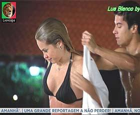 Lua Blanco sensual na novela Rebelde