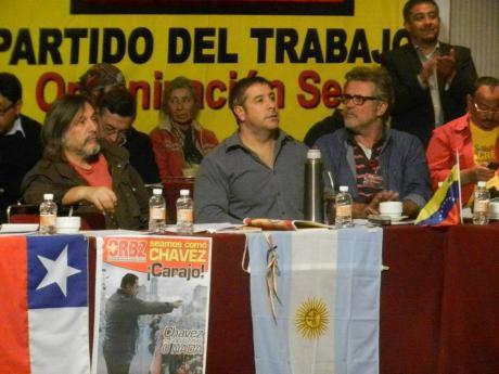 Asistentes internacionales comunistas al Seminario del PT. Foto: Valentina Rodríguez.