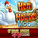 New Henhouse Mobile Slot Game at Grande Vegas Mobile Casino has Same Great Pick Me Bonus as Popular Online Casino Version