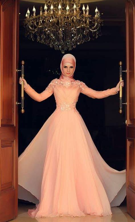 gaun pesta super mewah muslimah dreamcoid