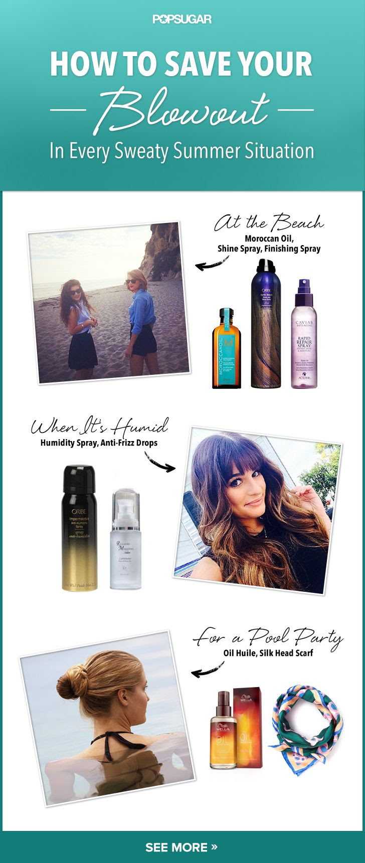 Make your blowout last no matter what the environment brings! #hair #hairtips #blowout