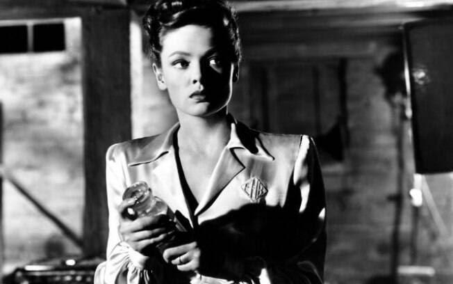 A atriz Gene Tierney. Foto: Reprodução