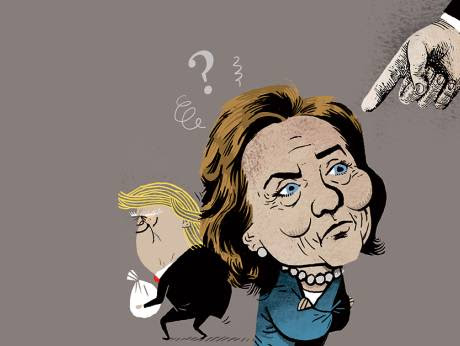 Trump's history of corruption is mind-boggling. So why is Hillary supposedly the corrupt one?