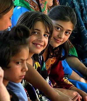 Children in Tajikistan