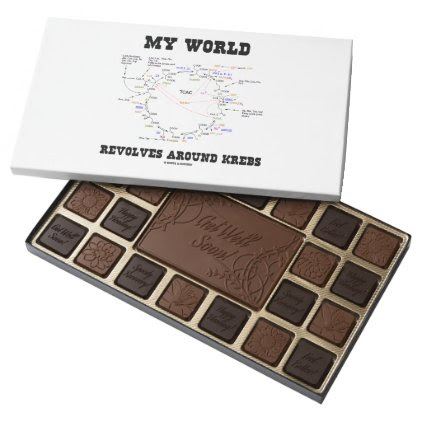 My World Revolves Around Krebs Biochemistry Humor Assorted Chocolates