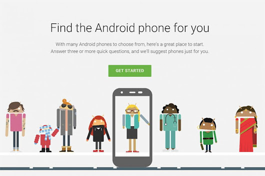 Google Which phone : Tool to find your next android phone.         ~          Techno Pyrate Redefined