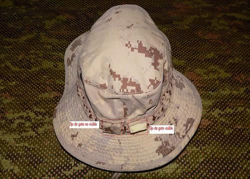 Boonie Hat CADPAT AR Detalle Mod.