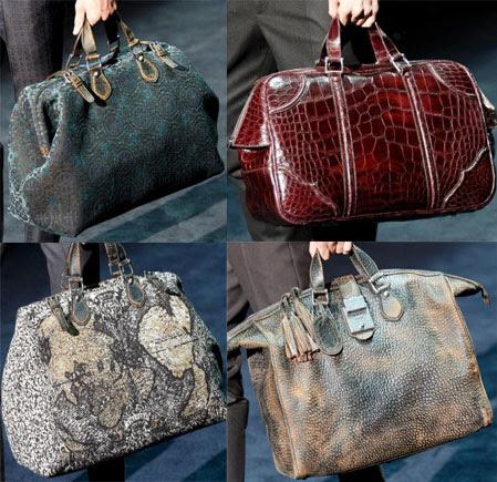 bolsas Bolsas de viaje de Gucci otoño invierno 2012 2013
