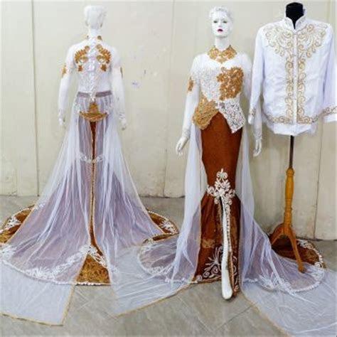 jual kebaya murah  baju nikah modern gaun